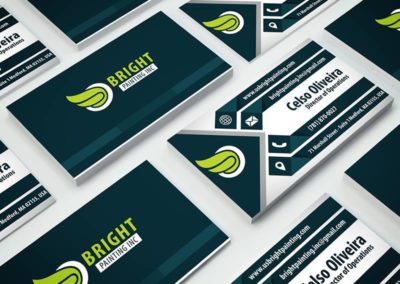 Bright Painting Business Card